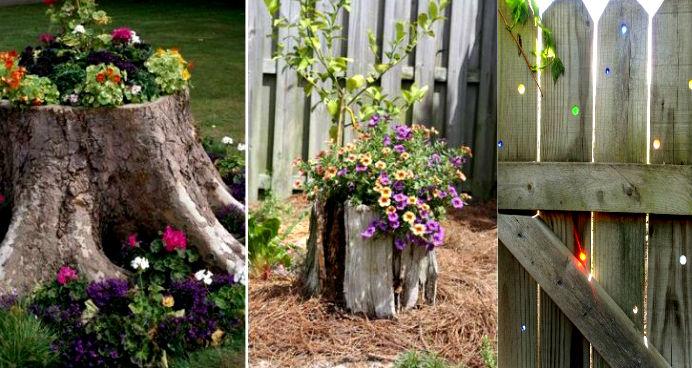 поделки для дачи и сада своими руками, идеи фото