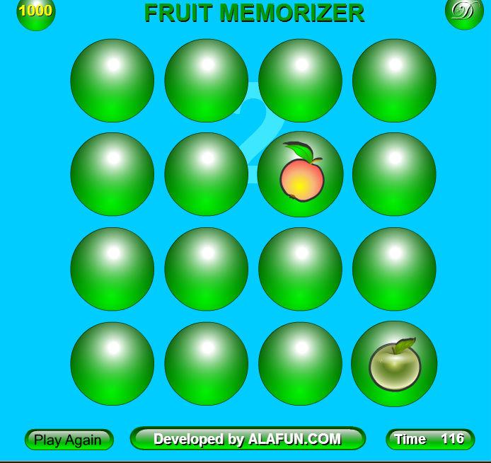 развиваем память- игра