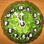 новогодний стол 2013 фото салаты украшения