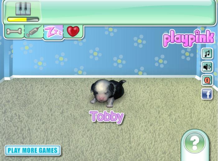 виртуальный щенок