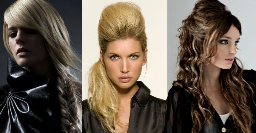 прически на выпускной 2013-2014 на длинные волосы с челкой