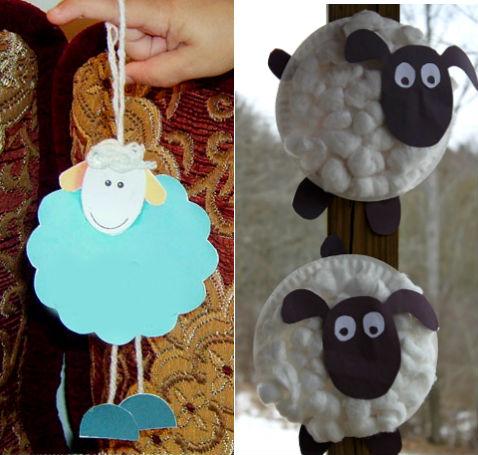 поделки на новый год 2015 коза