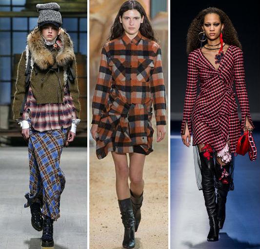 мода осень зима 2017-2018 тренды
