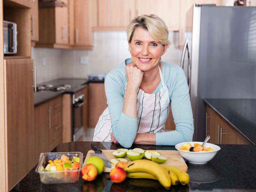 Безопасная диета для похудения после 50 лет