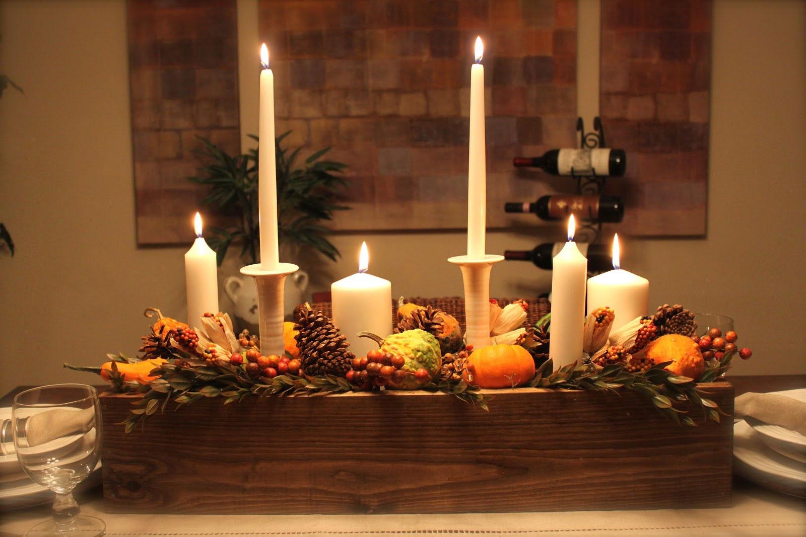 свечи на столе фото